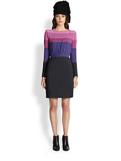 Boy. by Band of Outsiders - Striped Bodice Dress