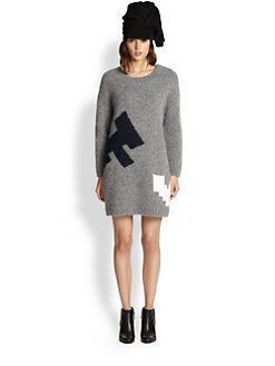 Boy. by Band of Outsiders - Atari Combat Fighter Sweater Dress