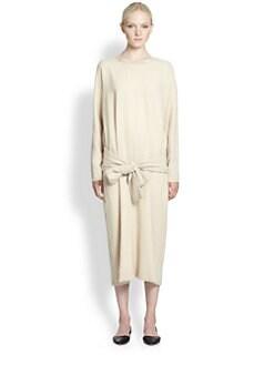 Christophe Lemaire - Drop-Waist Wool-Blend Dress
