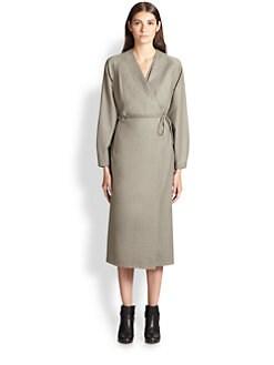 Christophe Lemaire - Cashmere & Wool Wrap Dress