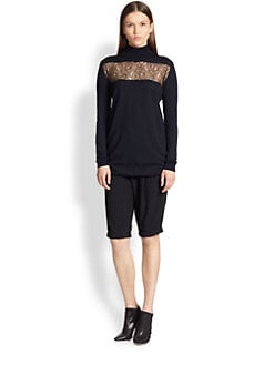 Thakoon - Lace-Insert Turtleneck Tunic