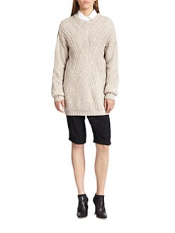 Thakoon - Cable-Knit Tunic Sweater