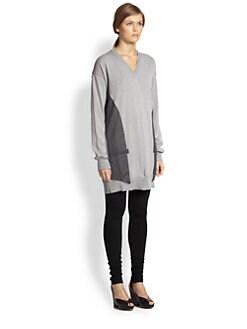 Maison Martin Margiela - Vest-Insert Sweater Dress