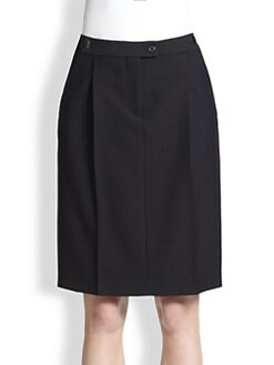 Maison Martin Margiela - Pleated Pencil Skirt