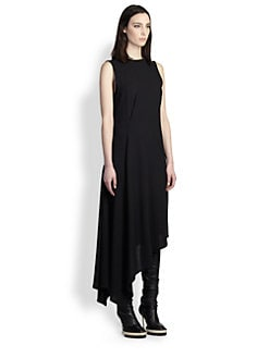 Ann Demeulemeester - Blackjack Asymmetrical Dress