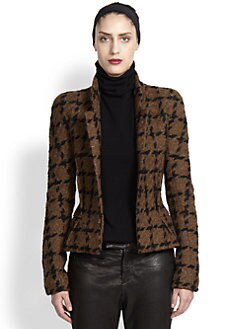 Haider Ackermann - Antoni Houndstooth Wool Jacket