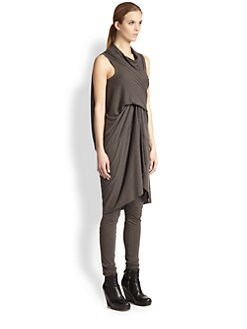 Rick Owens Lilies - Draped Tunic Dress
