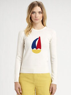 Boy. by Band of Outsiders - Wool Sailboat Sweater