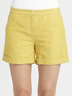 Boy. by Band of Outsiders - Cuffed Shorts