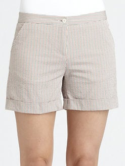 Boy. by Band of Outsiders - Seersucker Shorts