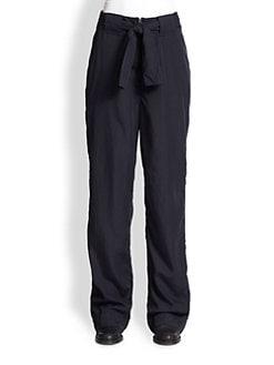 Acne Studios - Este Tie-Belt Loose Pants