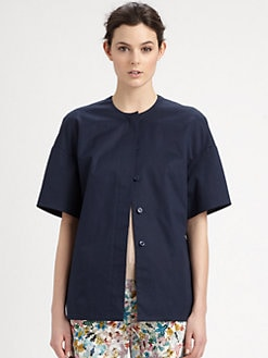 Cacharel - Round Shoulder Toile Jacket