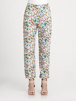 Cacharel - Butterfly Print Pants