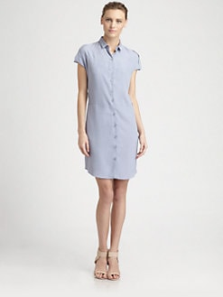 Cacharel - Cap-Sleeve Shirtdress