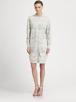 Cacharel - Floral Shirtdress