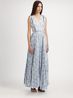 Boy. by Band of Outsiders - Printed Maxi Dress