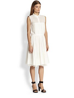 Boy. by Band of Outsiders - Pleated Shirtdress