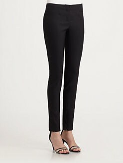 Costume National - Stretch Silk Skinny Pants