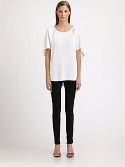 Costume National - Hi-Lo Pullover Top