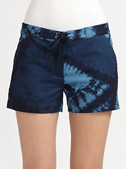 Boy. by Band of Outsiders - Shibori-Dyed Shorts