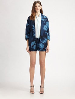 Boy. by Band of Outsiders - Shibori-Dyed Kimono Jacket