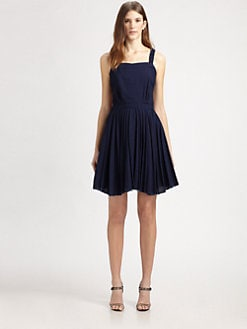 Boy. by Band of Outsiders - Indigo Print Dress