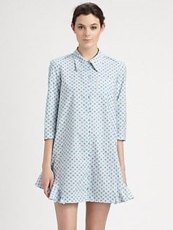 Cacharel - Collared Pocket Tunic