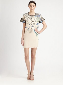 Cacharel - Printed Silk Dress
