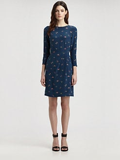 Boy. by Band of Outsiders - Silk Aztec Dress