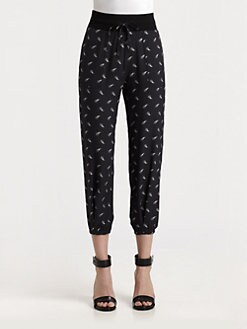Boy. by Band of Outsiders - Silk Arrow Pants