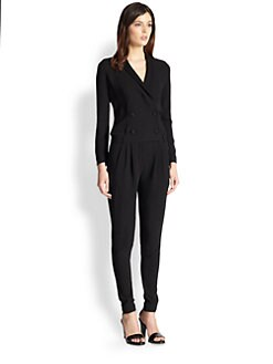 Boy. by Band of Outsiders - Double-Breasted Jumpsuit
