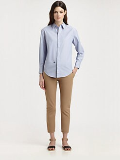 Boy. by Band of Outsiders - Striped Monogram Shirt