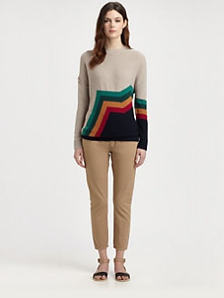 Boy. by Band of Outsiders - Merino Wool Aztec Stripe Sweater