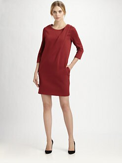 Cacharel - Shoulder-Pleat Dress