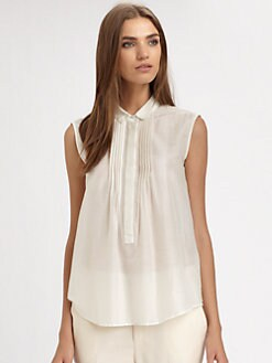 Boy. by Band of Outsiders - Pintuck Blouse