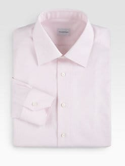 Ermenegildo Zegna - Tonal Print Dress Shirt