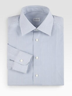 Ermenegildo Zegna - Check Dress Shirt