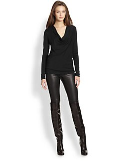Ralph Lauren Black Label - Jessie Draped Top