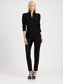 Ralph Lauren Black Label - Zip-Front Cardigan
