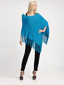 Ralph Lauren Black Label - Francis Silk Poncho