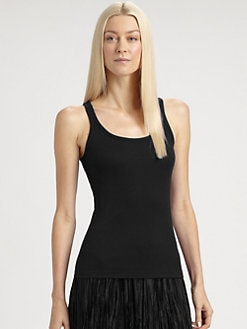 Ralph Lauren Black Label - Miley Mercerized Cotton Tank