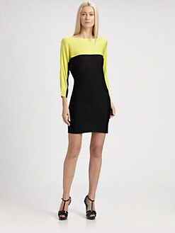 Ralph Lauren Black Label - Colorblock Dress