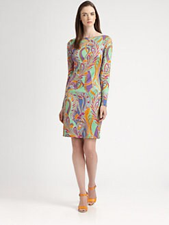 Ralph Lauren Black Label - Silk Paisley Dress