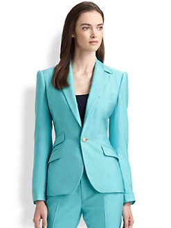 Ralph Lauren Black Label - Washed Silk Jennison Jacket
