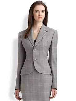 Ralph Lauren Black Label - Glen Plaid Blazer