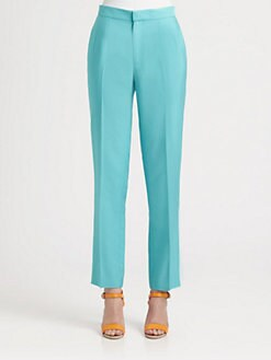 Ralph Lauren Black Label - Washed Silk Cate Pants