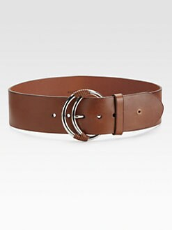 Ralph Lauren Black Label - Crescent Buckle Belt
