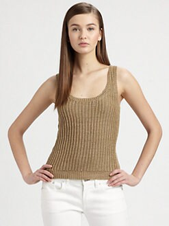 Ralph Lauren Black Label - Metallic Tank