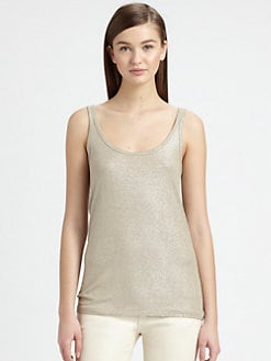 Ralph Lauren Black Label - Foil-Printed Tank