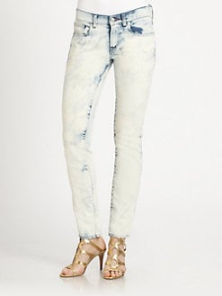 Ralph Lauren Black Label - Tie-Dye Cropped Matchstick Jeans